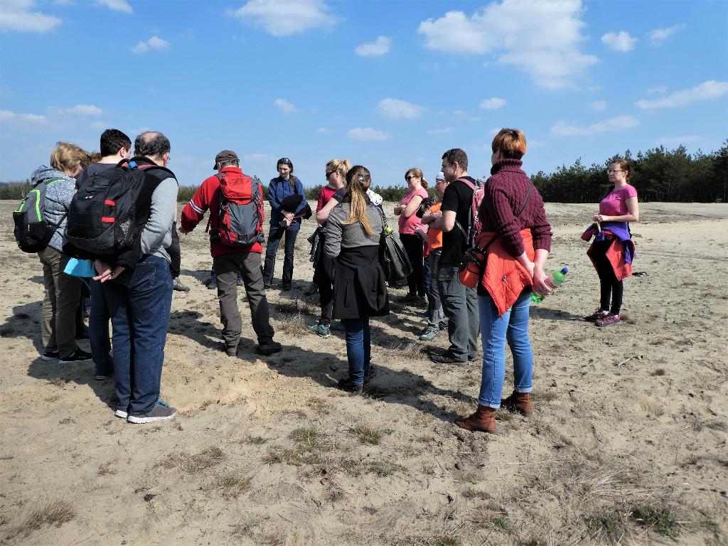 Integracja przewodnicka na piaskach Błędowskiej